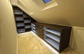 modern fitted bedroom furniture. Loft Space Fitted Bedroom Shoe Display With Drawers, Winchmore Hill N21 Modern Furniture S