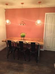 Kitchen Feature Wall Paint Crop It Like Its Hot Print Dulux Copper Blush Wall Dunelm