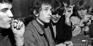 Image result for Bob Dylan sitting a bar 1965