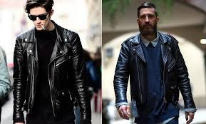 the timelessness of the leather jacket does depend on what colour you choose like suits neutral colours such as brown brown and grey are your best bet