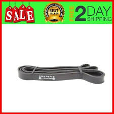 Pull Up Assist Bands Heavy Duty Resistance Bands Perfect For Body Single Black 757901873751 Ebay