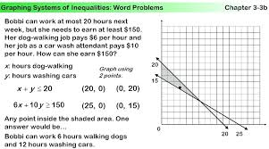 solving linear inequalities word problems worksheet pdf systems of equations answers printable