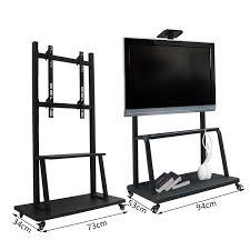tv cart on wheels. HOMCOM Mobile TV Stand 42\ Tv Cart On Wheels I