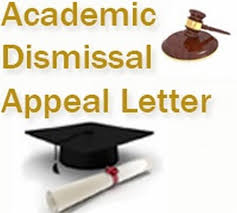 Academic Dismissal Appeal Letter Free Letters