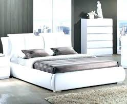 outstanding leather bed frame king white super size faux with drawers furniture black modern home improvement winning b brown canada luxury bedroom stunning
