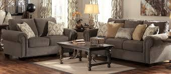 Living Room Set Furniture Living Room Sets Jessa Place Pewter Sectional Living Room Set