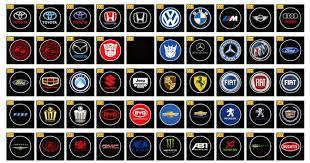 Light Up Car Emblems 6th Car Emblem Led Logo Welcome Door Light Ground Projecting