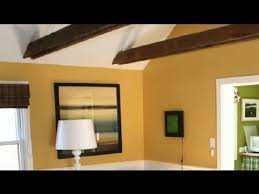 good colors to warm a vaulted ceiling