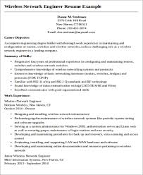Network Engineer Resume Stunning 28 Sample Network Engineer Resumes Sample Templates
