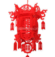 chinese lanterns wedding red xi gloden