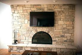 refacing a brick fireplace with stone veneer beautiful reface brick fireplace for cover brick fireplace with