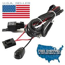 light cables io led work light bar cree wiring harness kit on off switch relay cable kit jeep