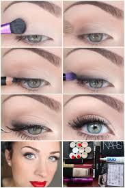 natural makeup for greeen eyes