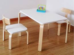 table and chairs set for kids white