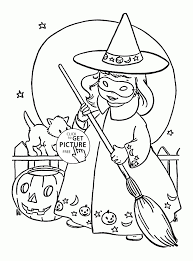 Halloween Witch Coloring Pages Futuramame