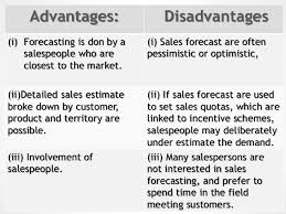 What Is A Sales Forecast Sales Forecasting Method