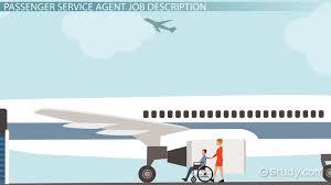 Travel Agent Job Description Impressive Passenger Service Agent Job Description Outlook And Salary