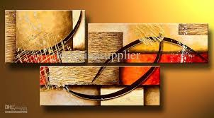 art modern abstract oil painting multiple piece canvas art set huge handicraft artwork high quality with 52 43 set on topchinasupplier s