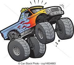 monster truck tires clipart. Fine Monster Monster Truck Jumping  Csp14834663 And Tires Clipart C