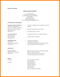 6 College Student Cv Example Graphic Resume