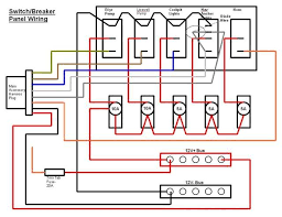 boat switch wiring diagram marine grade switch panel wiring basic 12 volt boat wiring diagram at Marine Boat Wiring Diagram