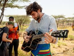 Alvaro Soler bei World Vision-Projekten in Kenia