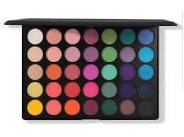 Aurora Lights 18 Color Baked Eyeshadow Palette Morphe 35b Palette