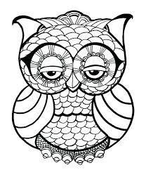 Owl Coloring Pages Owl For Coloring Owl Coloring Pages Owl Coloring