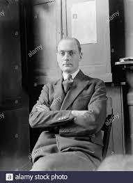 Mr Edgar Middleton , the Liberal candidate for East Islington . 30 March  1929 Stock Photo - Alamy