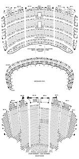 Chicago Theater Seat Chart Oriental Theatre Chicago Seating