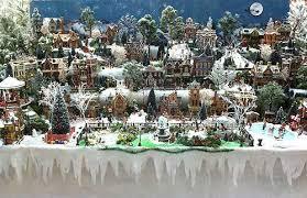 Christmas Tree Village Display Stands Inspiration Building Display Stands Christmas Village Displays