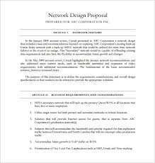 23 Design Proposal Templates Word Pdf Pages Free
