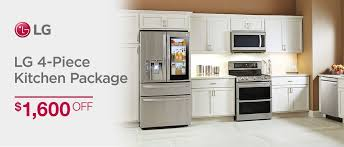 lg 4 piece kitchen package 1 600 off while supplies last now