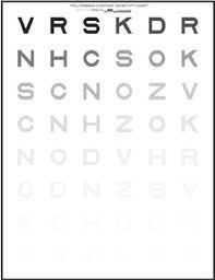 Pelli Robson Chart Pelli Robson Chart 49 Download Scientific Diagram
