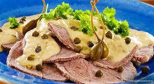 Znalezione obrazy dla zapytania ROAST VEAL mayonnaise.