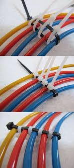 LPT: Use cable binders in this specific way to organize multiple lose cables  under your