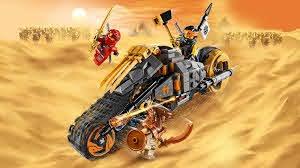 LEGO NINJAGO® 70672 Cole's crossmotor 360° - YouTube