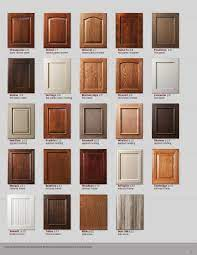 Slab cabinet finishes tend to be either natural wood or a bold, dramatic color such as red, purple, or black. Showplace Renew Refacing Styles Woods Finishes Booklet Kitchen Cabinet Door Styles Cabinet Door Styles Cabinet Door Designs