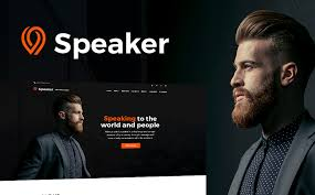 Speaker Templates Speaker Life Coach Wordpress Theme
