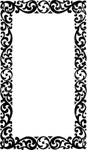 vintage frame border. Free Vector Art \u0026 Clipart \u2013 Vintage Frame Border E