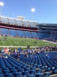 Ralph Wilson Stadium Seating Chart View New Era Field Section 135 Row 31 Seat 12 Buffalo Bills
