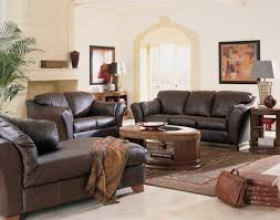 ... Decorating Living Room Ideas Best Interior Design Dark Brown Leather  Sofa Elips Wooden Coffee Table Turkish ...