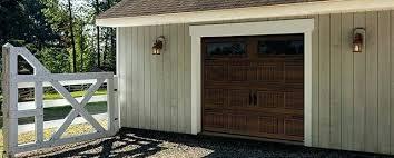 top 10 garage doors north 8 x 7 chocolate walnut clear windows top 10 electric garage