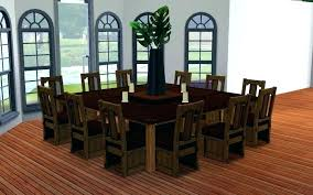 10 person round dining table set celf club with regard to room decor 14