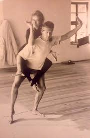 we always took yoga very serious and went beyond the limitations of asana take for exle this photo from 1986 taken in our molivos yoga hall