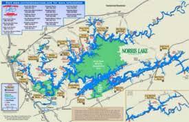 Norris Lake Maps Maps Of Norris Lake