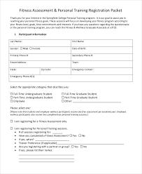 Assessment Forms In Pdf Free Premium Templates Personal Traini On ...