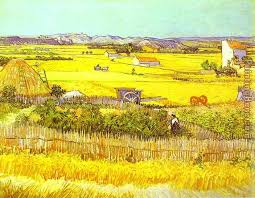 vincent van gogh harvest landscape