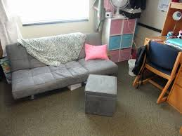 dorm furniture ideas. Gray Colored Small Futons For Dorm Rooms Perfect Sample Simple Ideas Wooden Base Material Furniture