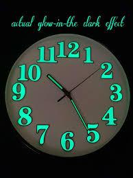 10 modern design luminous wall clock
